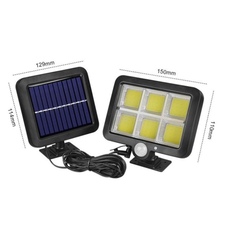 LED感應壁燈防水分體式車庫燈(100燈3功能)