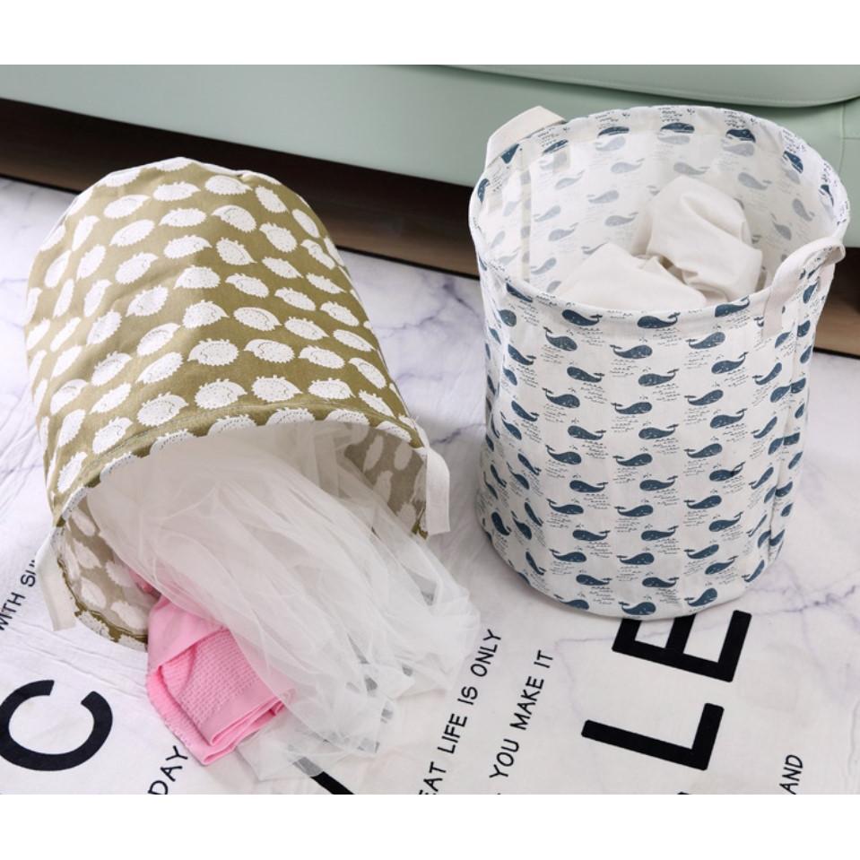 折疊收納筐收納桶洗衣籃(43*37.5cm)