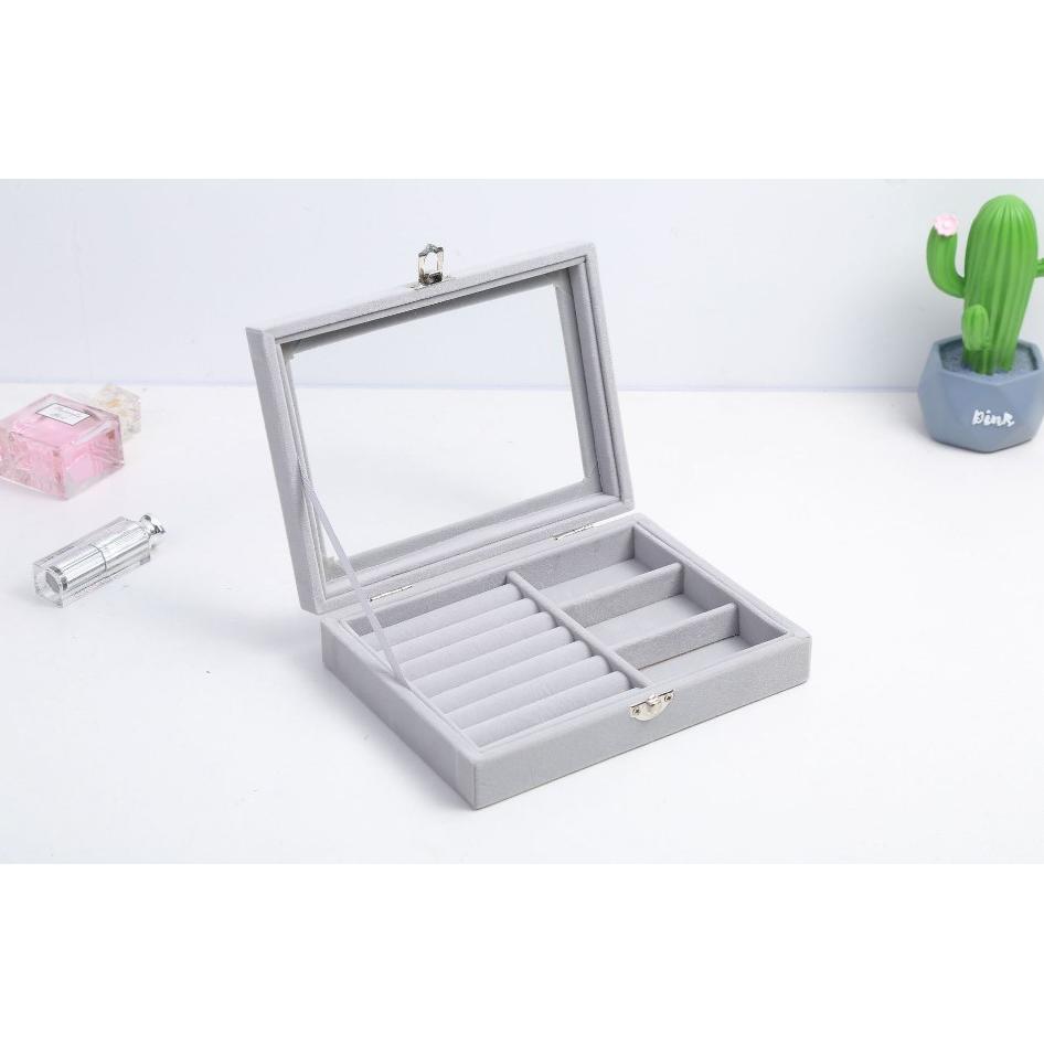 首飾收納盒(3格)