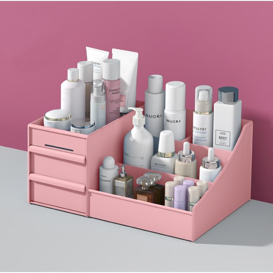 化妝品抽屜式置物架收納盒(26*16*11.8cm)