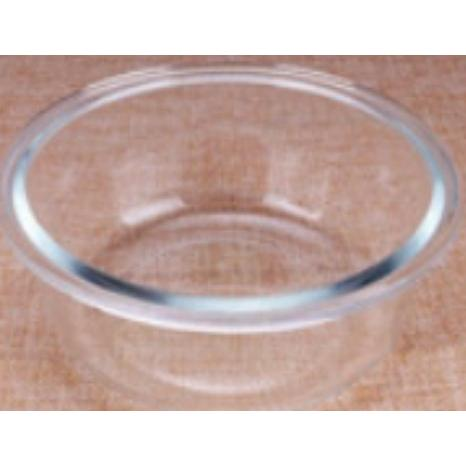 耐熱圓形玻璃保鮮盒便當盒(370ML)