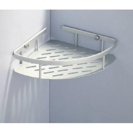 免打孔太空鋁三角架置物架(單層)