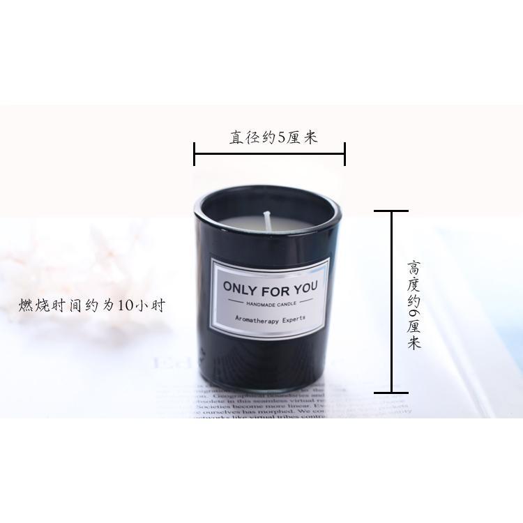 美國新生代品牌禮物玻璃燭台浪漫生日香薰蠟燭創意大豆蠟伴手禮