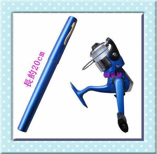 鋼筆釣魚竿(帶釣魚線)