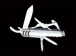 七開萬用工具瑞士刀(全不銹鋼)