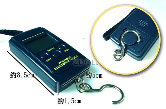 繩式電子釣魚秤40KG