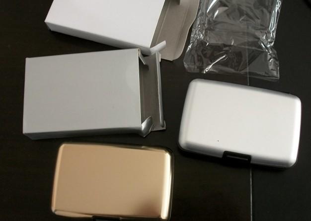 鋁殼金屬名片盒(亮面)