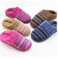 針織絨拖鞋