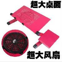 大風扇電腦桌(1個USB風扇+鼠標墊)