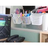 鐵製噴塑多用途掛籃/辦公室雜物籃