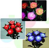 LED玫瑰花束小夜燈/永不凋謝玫瑰花