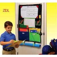 homework caddy 兒童學習作業板 多功能文具收納袋