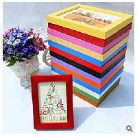 彩色木製相框(4