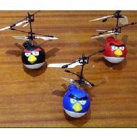遙控感應憤怒的小鳥電動飛行器(帶遙控器)空運