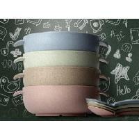 兒童天然小麥纖維餐具組(耳碗1+湯匙1)