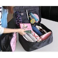 韓國可愛卡通手提行李收納登機旅行包