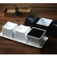 鍵盤按鍵造型簡單水杯