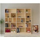 高級木製組合書櫃無門(高180*深24*寬40cm)