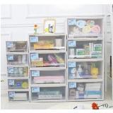 創意收納柜防塵儲物箱中號(45*42*19.5cm)