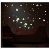 創意螢光夜光小綿羊DIY壁貼