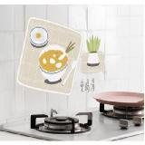 透明廚房鋁箔防油煙貼紙