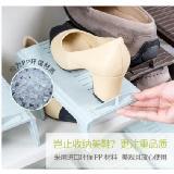 可調節一體式收納鞋架雙層