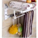 太空鋁活動折疊浴巾架