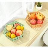 創意六角鏤空水果盤瀝水盤
