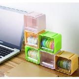 多用桌面膠帶收納盒整理盒