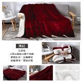 設計師款法蘭羊羔絨毯被加厚雙層超柔1.7公斤版(200*150)