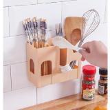 無痕免打孔廚房餐廳壁掛式筷子籠