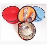 不銹鋼碗裝碗筷勺餐具套裝