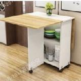 變形金剛伸縮折疊可移動餐桌(120*60需DIY)