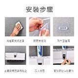 多功能牙刷架置物架擠牙膏器(四口)