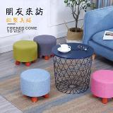 免組裝實木換鞋凳小板凳(27*27*27cm)