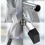 雙桿不銹鋼落地X型折疊晾衣架(2M)