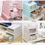 抽屜式收納盒儲物箱收納櫃(27*18*10cm)