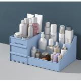 化妝品抽屜式置物架收納盒(28.5*18*13cm)