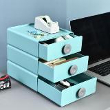 桌面抽屜式收納盒儲物盒