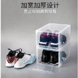 硬PP可拆卸磁吸門加厚防塵鞋盒(正面開大號)