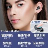 鏡面顯示屏藍牙耳機
