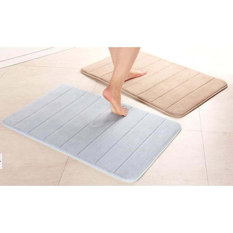 科技記憶海綿珊瑚絨慢回彈地毯/地墊(50*80)