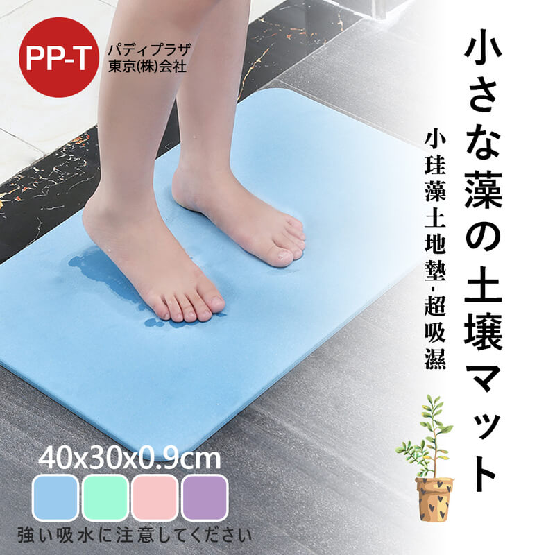 日本PPT升級版超吸濕硅藻土地墊(40*30)裸片