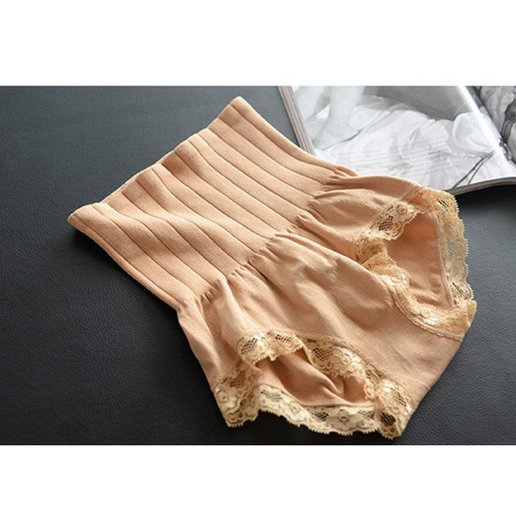 日本爆款高檔蕾絲高腰收腹提臀燃脂內褲