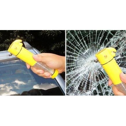 警示燈手電筒汽車安全錘車窗擊破器