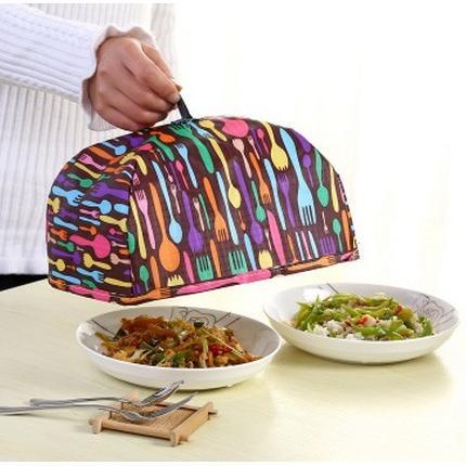 可折疊保鮮蓋/保溫食物罩/折疊蓋菜罩(小號)